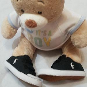 Polo Ralph Lauren Kids Size 6 Shoes Blk/Wht